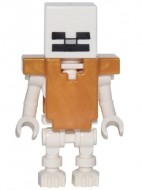 min054 Skeleton with Cube skull NIEUW loc