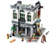 Set 10251-GB Brick Bank gebruikt deels gebouwd *B036