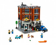 Set 10264-GB Corner Garage gebruikt deels gebouwd *B036