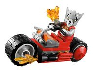 Set 30265 - Legends of Chima: Worriz' Fire Bike (polybag)- Nieuw