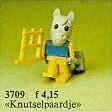 Set 3709-G - Fabuland: Henry Horse the carpenter -/-/100%- gebruikt