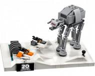 Set 40333-GB Battle of Hoth- 20th Anniversary Edition gebruikt deels gebouwd *B036