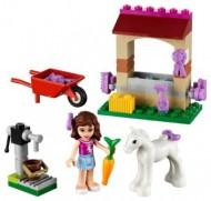 Set 41003-G - Friends: Olivia's Newborn Foal D/H/97%- gebruikt