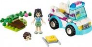 Set 41086-G - Friends: Vet ambulance D/H/97%- gebruikt