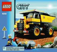 Set 4202 BOUWBESCHRIJVING- Minig Truck Auto gebruikt loc