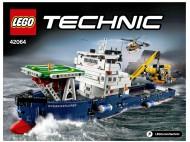 Set 42064 BOUWBESCHRIJVING- Rough Terrain Crane Technic NIEUW loc