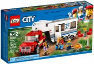 Set 60182 - Town: Pickup en caravan- Nieuw