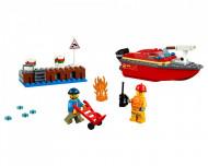 Set 60213-GB Dock Side Fire gebruikt deels gebouwd *B036