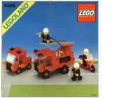 Set 6366 BOUWBESCHRIJVING- Fire & Rescue Squad Auto gebruikt loc