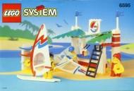 Set 6595 BOUWBESCHRIJVING- Surf Shack gebruikt loc LOC M3