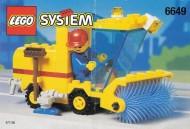 Set 6649 BOUWBESCHRIJVING- Street Sweeper gebruikt loc LOC M3