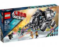 Set 70815-G - The Lego Movie: Super Secret Police Dropship- gebruikt