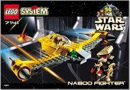 Set 7141 BOUWBESCHRIJVING- Naboo Fighter Star Wars gebruikt loc