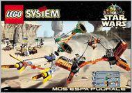 Set 7171 BOUWBESCHRIJVING- Mos Espa Podrace Star Wars gebruikt loc