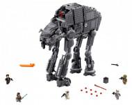 Set 75189-GB First Order Heavy Assault Walker gebruikt deels gebouwd *B036