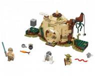 Set 75208-GB Yoda's Hut gebruikt deels gebouwd *B036