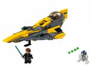 Set 75214-GB Anakin's Jedi Starfighter gebruikt deels gebouwd *B036