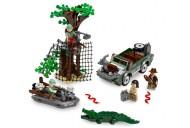 Set 7625-G - Indiana Jones: River Chase D/H/C 97-100%- gebruikt