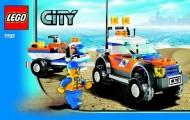 Set 7737 BOUWBESCHRIJVING- Coast Guard 4WD & Jet Scooter Vliegtuigen gebruikt loc