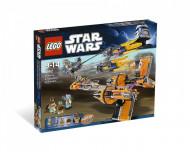Set 7962-GB Anakin's Sebulba's Podracers gebruikt deels gebouwd *B036