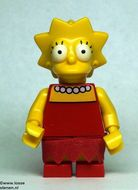 sim010 Lisa Simpson NIEUW loc