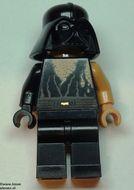 sw283 Star Wars:Anakin Skywalker gewond met Darth Vader helm NIEUW loc