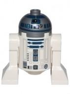 sw527a Star Wars: R2-D2 (Plat zilver hoofd, donkerbkauwe orint) NIEUW loc