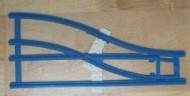 x879cx1-9G Trein, Rails 4.5V Handwissel rechts lichtgrijs (klassiek) gebruikt *