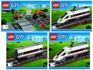 Set 60051 BOUWBESCHRIJVING- High Speed Passanger Train Treinen NIEUW loc