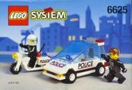 Set 6625 BOUWBESCHRIJVING- Speed Trackers gebruikt loc LOC M3