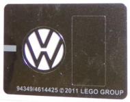 10220stk02 STICKER VW Bus VW symbool NIEUW *0S0000