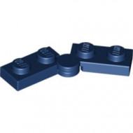 2429c01-63 Scharnierplaat 1x4 compleet (horizontaal 2 x 1x2) (loc 01-09) blauw, donker NIEUW *1L300