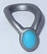 28628apb01-95 Amulet zilver, mat NIEUW *0L0000