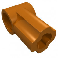 32013-68 Technic, Hoekverbinding #1 oranje, donker gebruikt *0L0000
