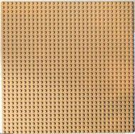 3811-2G Basisplaat 32x32 crème gebruikt *3K000
