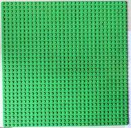 3811-37G Basisplaat 32x32 Groen, midden gebruikt loc