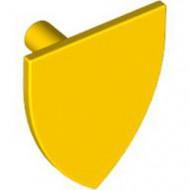 3846-3 Schild driehoek zonder opdruk geel NIEUW *0L0000