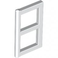 3854-1G Raampaneel 1x2x3 voor ramen 3853- Voor elk raam 2 stuks nodig wit gebruikt *1L0000