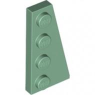 41769-48 Wig plaat 4x2 rechts groen, zandkleurig NIEUW *1L223+4