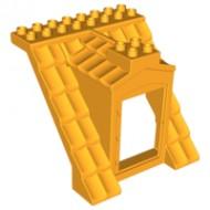 51384c01-110 DUPLO Dak met dakkapel oranje, lichthelder NIEUW *