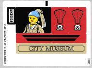 60008stk02 STICKER 61008 Museum Break In VEL 2 NIEUW *0S0000