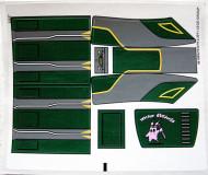 7930stk01 STICKER Bounty Hunter Assault Gunship NIEUW *0S0000