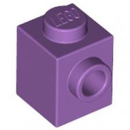 87087-157 Steen 1x1 noppen 1 zijde lavender, midden NIEUW *1L034