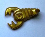 30169-115 Schorpioen goud, parel NIEUW loc