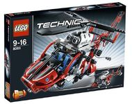 Set 8068 - Airport: Rescue Helicopter- Nieuw