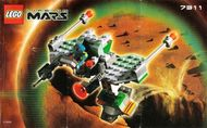 Set 7311 BOUWBESCHRIJVING-  Life on Mars: Red Planet Cruiser Mars gebruikt loc
