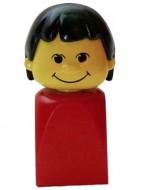 bfp001G Basisfiguur meisje rood gebruikt *0L000