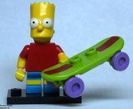 colsim-2 Bart Simpson met skateboard em standaard NIEUW loc