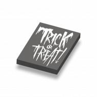 CUS1061 HALLOWEEN- Trick or Treat! zwart NIEUW *0A000