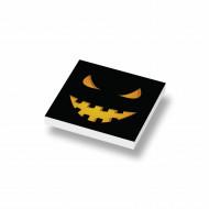 CUS3050 Tegel 2x2 HALLOWEEN Pumpkin Head 1 wit NIEUW *0A000